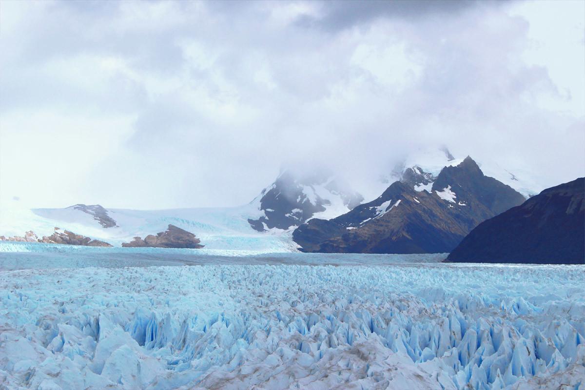 Premiers pas en Argentine : El Calafate et le Perito Moreno