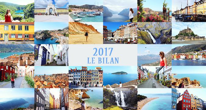 Bilan 2017 et idées de destinations pour 2018!