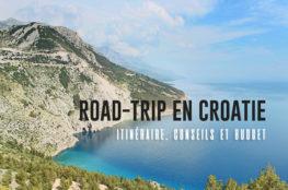 Séjour en Croatie : itinéraire, conseils et budget
