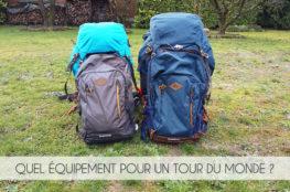 L'équipement pour un tour du monde